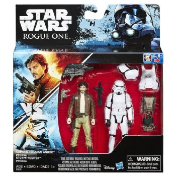 Star Wars: Rogue One Captain Cassian Andor vs. Imperial Stormtrooper U.S. STORE EXCLUSIVE